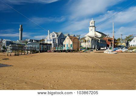 Beach at Provincetown, Cape Cod, Massachusetts, USA.