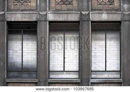 Wall Behind Windows