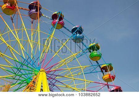 Colored Ferris Wheel