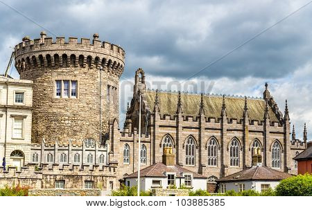 View Of Dublin Castle Froom Dubh Linn - Ireland