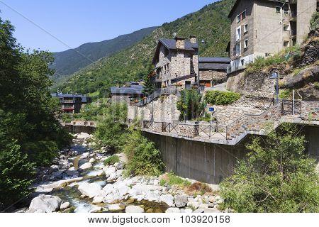River in Andorra
