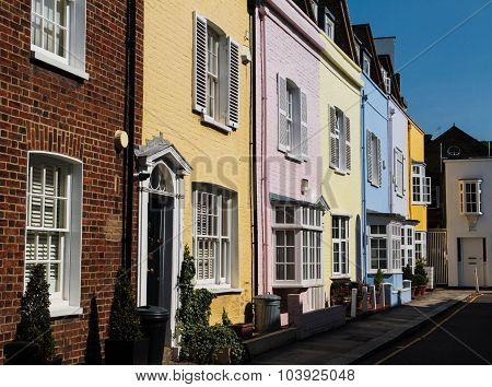 Street in Chelsea London UK
