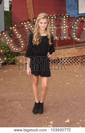 LOS ANGELES - OCT 4:  Lizzy Greene at the