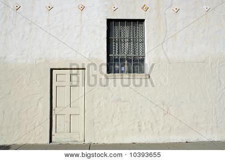 Door on Industrial building