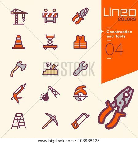 Lineo Colors - Construction and Tools icons