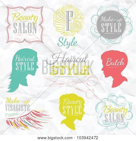 Set Beauty Salon Color