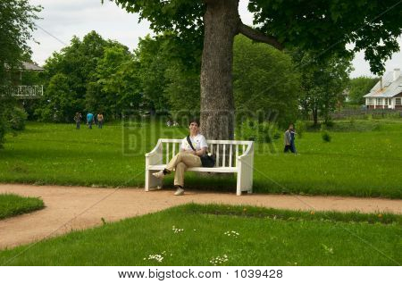 Woman On The Bench