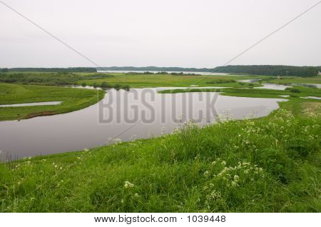 Meadows And River