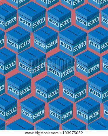 Voting Box Usa Election 2016