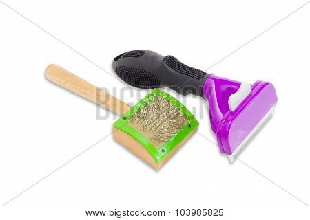 Combs For Grooming Of The Cats Hair
