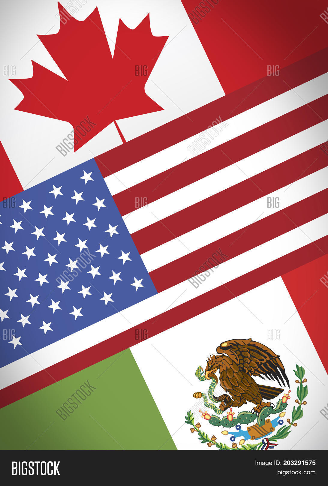 Nafta Economical Trade Image Photo Free Trial Bigstock