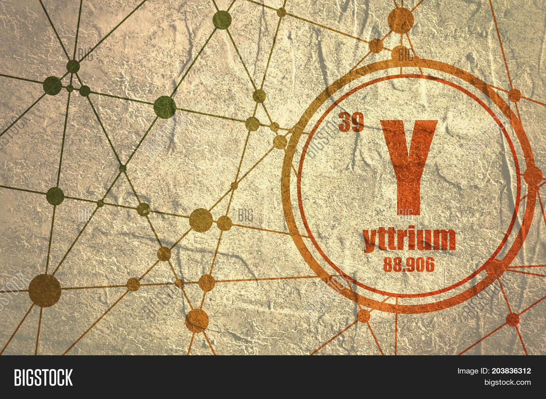 Yttrium Chemical Image Photo Free Trial Bigstock