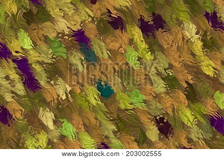 Abstract Autumn Leafs Background