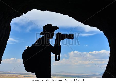 stock photography silhouette & photography and peace