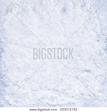 Festive Christmas Decorative Snow Background