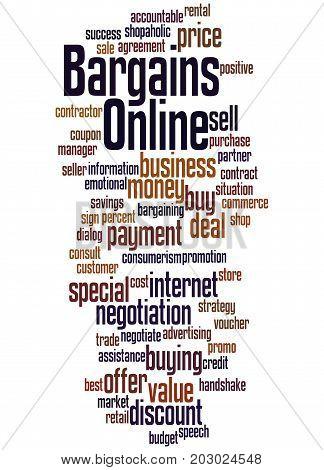 Bargains Online, Word Cloud Concept 5
