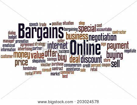 Bargains Online, Word Cloud Concept 6