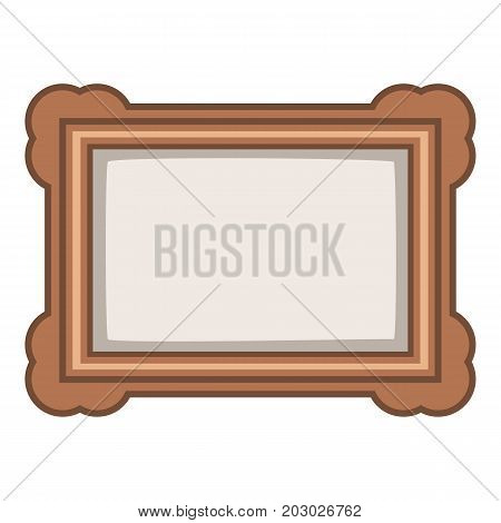 Picture icon. Cartoon illustration of picture vector icon for web