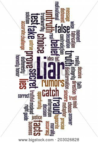Liar, Word Cloud Concept 2