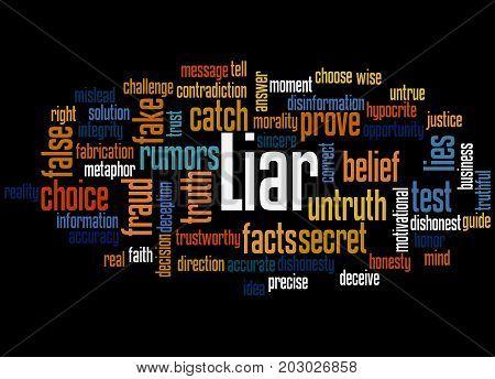 Liar, Word Cloud Concept 4