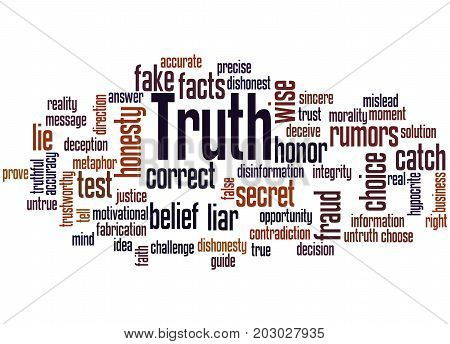 Truth, Word Cloud Concept 3