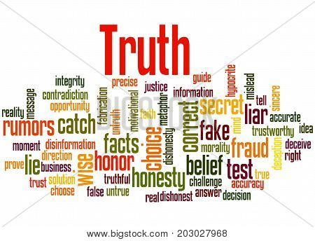 Truth, Word Cloud Concept 5