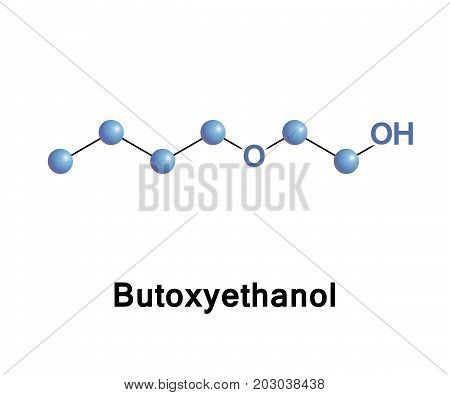 2-Butoxyethanol is an organic compound with the chemical formula BuOC2H4OH. It derives from the family of glycol ethers and is a butyl ether of ethylene glycol