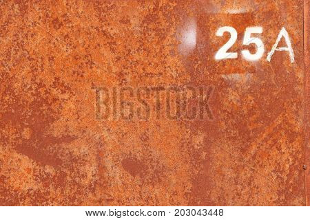 Rusty Paint Wall Texture. Number 25 A