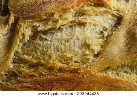 Bread Crust Close Up