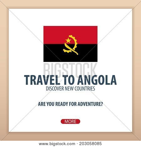 Travel To Angola. Discover And Explore New Countries. Adventure Trip.