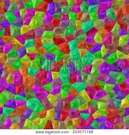 Carneval multi-colored colorful mosaic cheerful seamless texture background