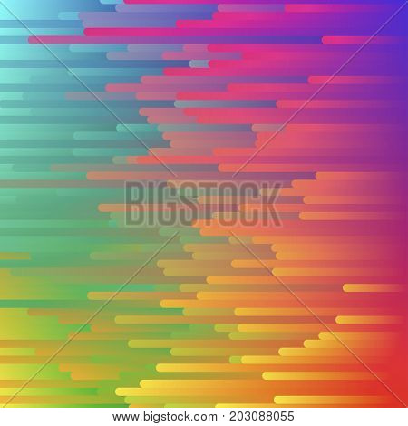 Color gradient abstract pattern. Modern digital paint futuristic background. Wallpaper illustration
