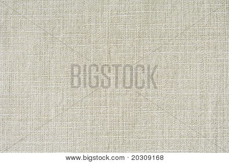 Linen natural canvas texture. poster