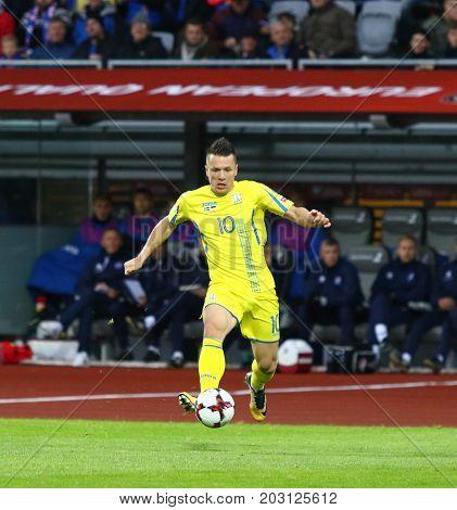 World Cup 2018 Qualifying: Iceland V Ukraine In Reykjavik