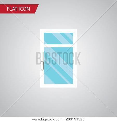 Clean Vector Element Can Be Used For Window, Clean, Frame Design Concept.  Isolated Glass Flat Icon.