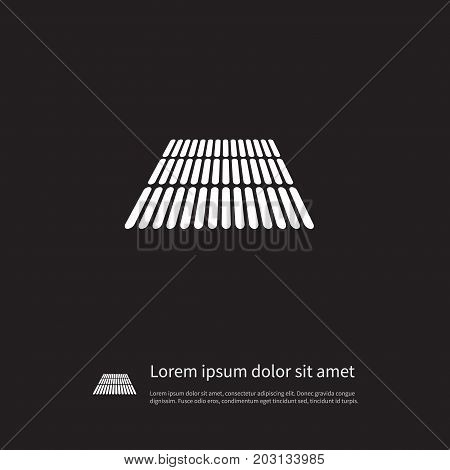 Square Vector Element Can Be Used For Cornfield, Field, Square Design Concept.  Isolated Cornfield Icon.