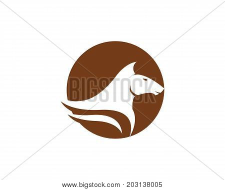 Horse Logo Template Vector icon illustration design