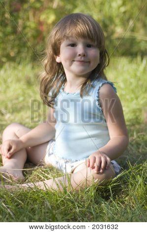 Rural Happy Girl