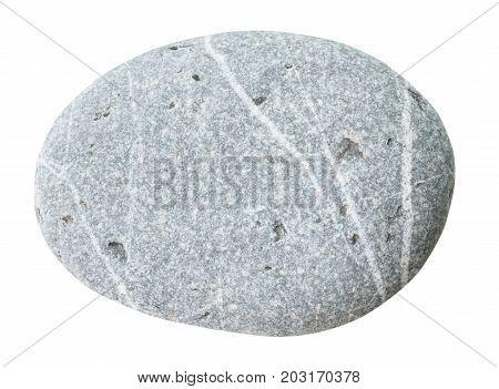 Umbled Graywacke Stone Isolated