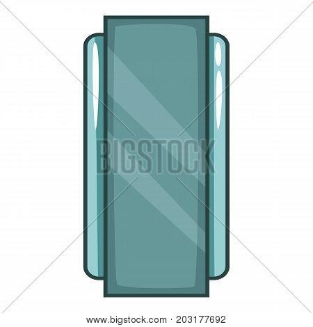 Retro chips icon. Cartoon illustration of retro chips vector icon for web
