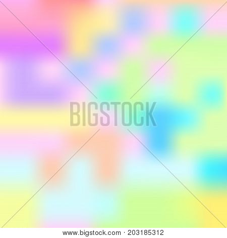 Colorful de-focused abstract blur background. Vector illustration