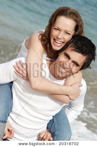 couple having fun