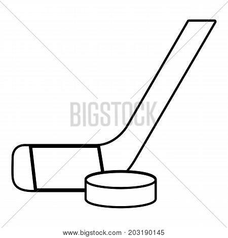 Stick washer ice hockey icon. Outline illustration of stick washer ice hockey vector icon for web design isolated on white background