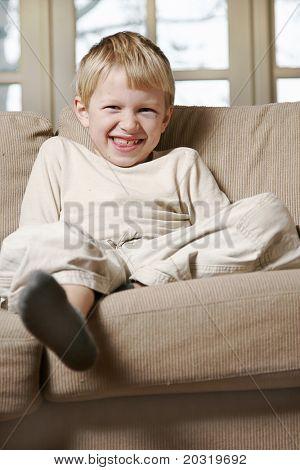 cheeky laugh