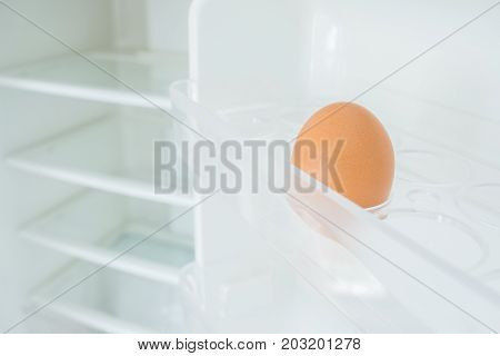 One Egg In A Fridge Door, Shortage