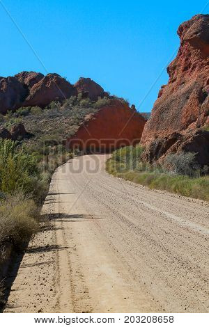 The Long Dusty Road To The Red Mountains Of Calitzdorp