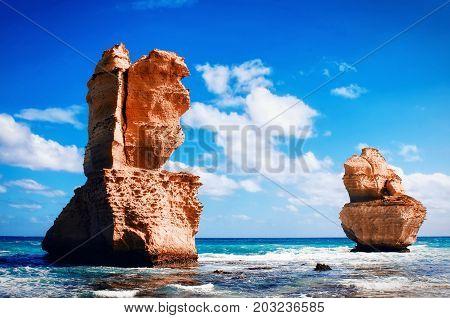 Nice view on the 12 Apostles. Australia