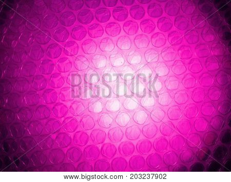 The Pink And White Background From Pink Light Past  The Translucent  Plastic