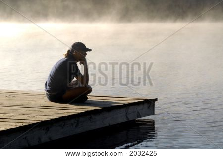 Sitting On A Dock 5