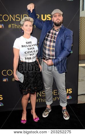 LOS ANGELES - AUG 14:  Guest, Chris Sullivan at the FYC Panel Event For 20th Century Fox And NBC's